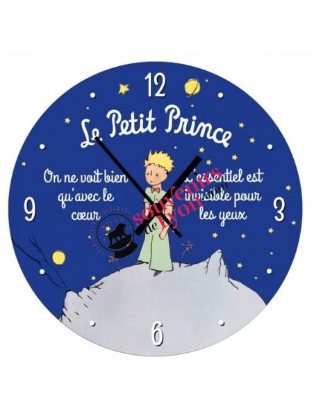Horloge le Petit Prince nuit étoilée chez Souvenirsdelyon.com