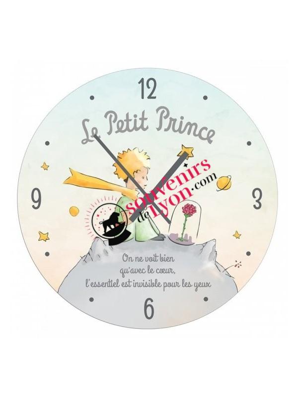 Horloge le Petit Prince et sa rose chez Souvenirsdelyon.com