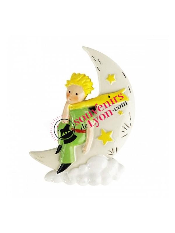 Magnet le Petit Prince sur la lune chez Souvenirsdelyon.com