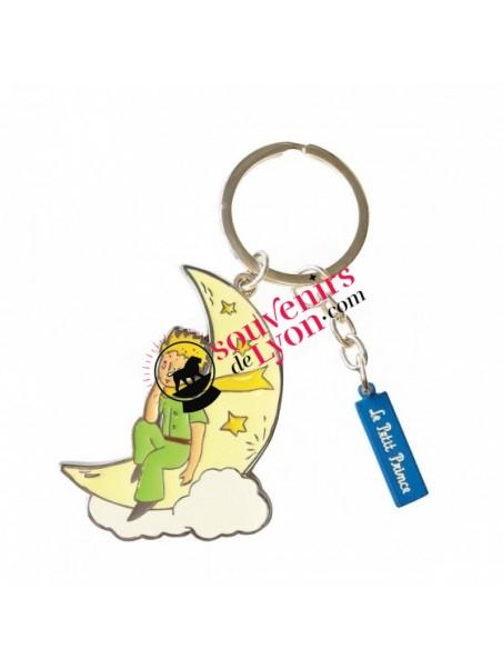Porte-clés le Petit Prince sur la lune chez Souvenirsdelyon.com
