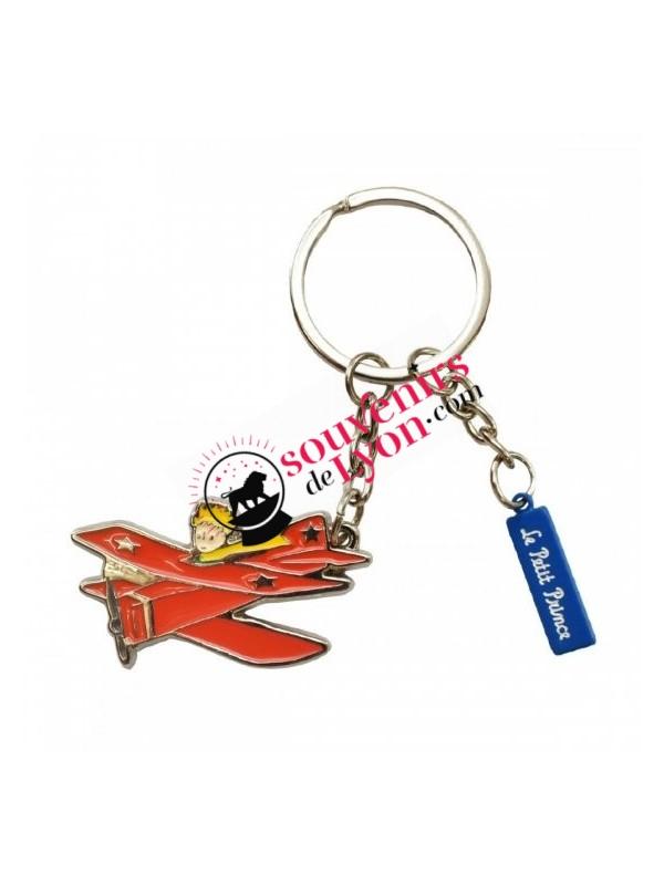 Porte-clés le Petit aviateur sur souvenirsdelyon.com