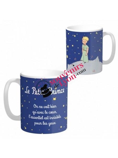 Mug le Petit Prince nuit étoilée chez Souvenirsdelyon.com