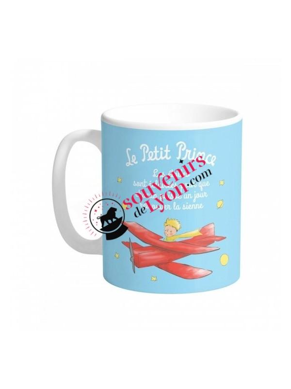 Mug le Petit Prince aviateur chez Souvenirsdelyon.com