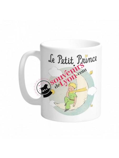Mug le Petit Prince sur la lune chez Souvenirsdelyon.com