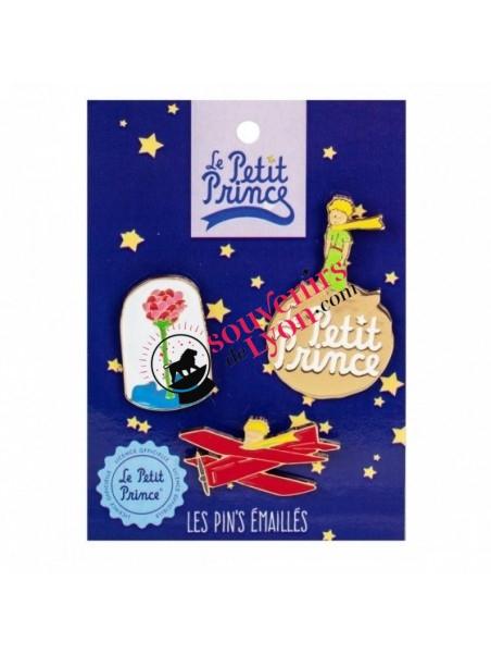 Lot de 3 pin's le Petit Prince chez Souvenirsdelyon.com