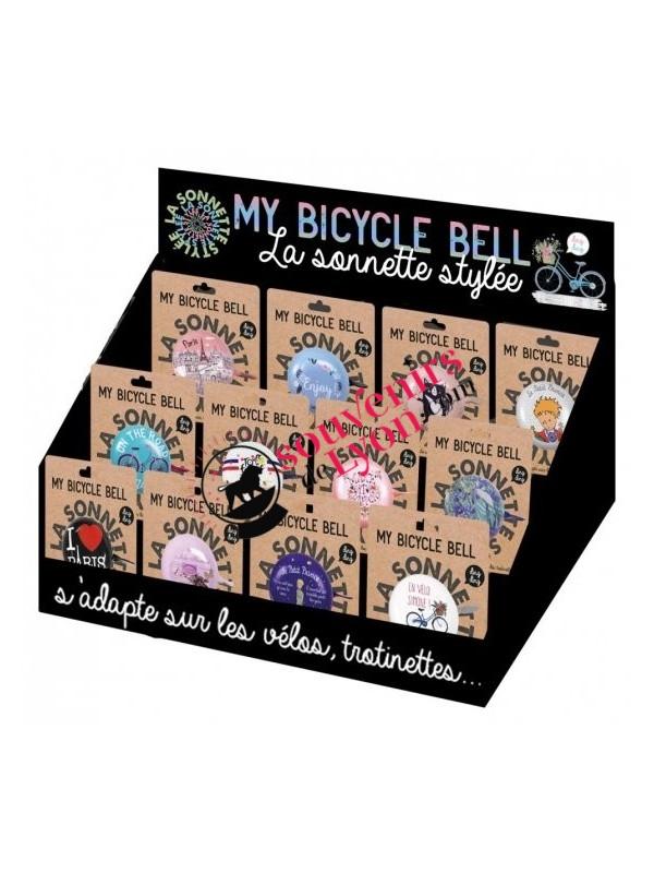 Sonnette de vélo le Petit Prince nuit étoilée chez Souvenirsdelyon.com