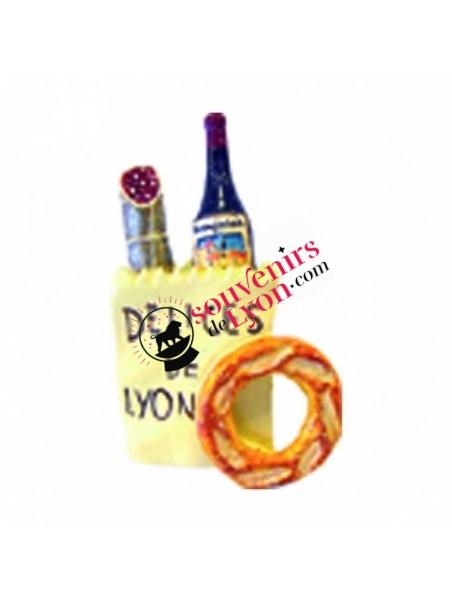 Magnet Délices de Lyon chez Souvenirsdelyon.com