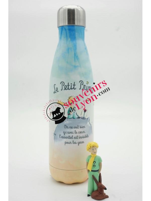Bouteille isotherme le Petit Prince et la Rose chez Souvenirsdelyon.com