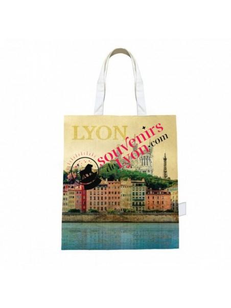 Tote bag Lyon vintage chez Souvenirsdelyon.com