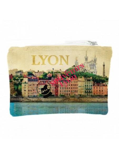 Pochette Lyon vintage chez Souvenirsdelyon.com