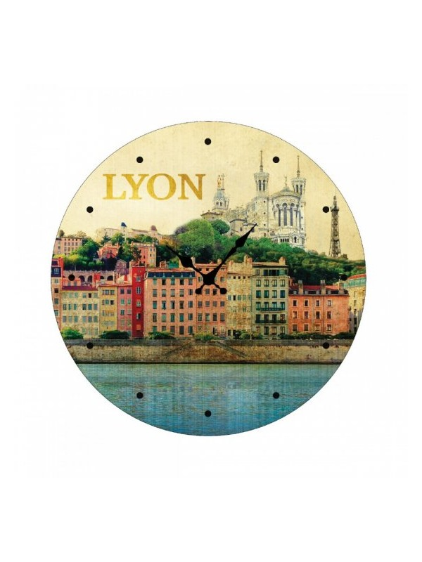 Vintage Lyon clock  Souvenirsdelyon.com