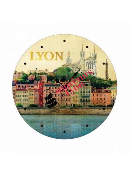 Horloge Lyon vintage chez Souvenirsdelyon.com