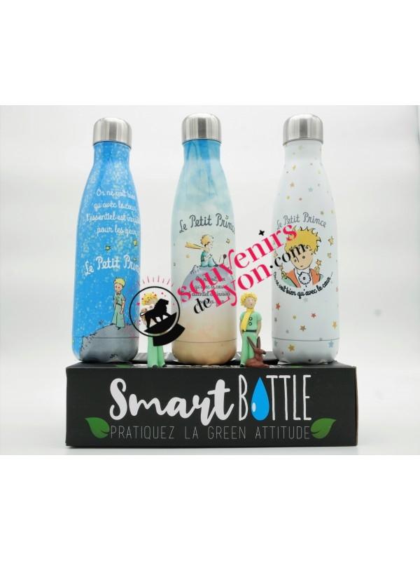 Bouteille isotherme le Petit Prince bleu chez Souvenirsdelyon.com
