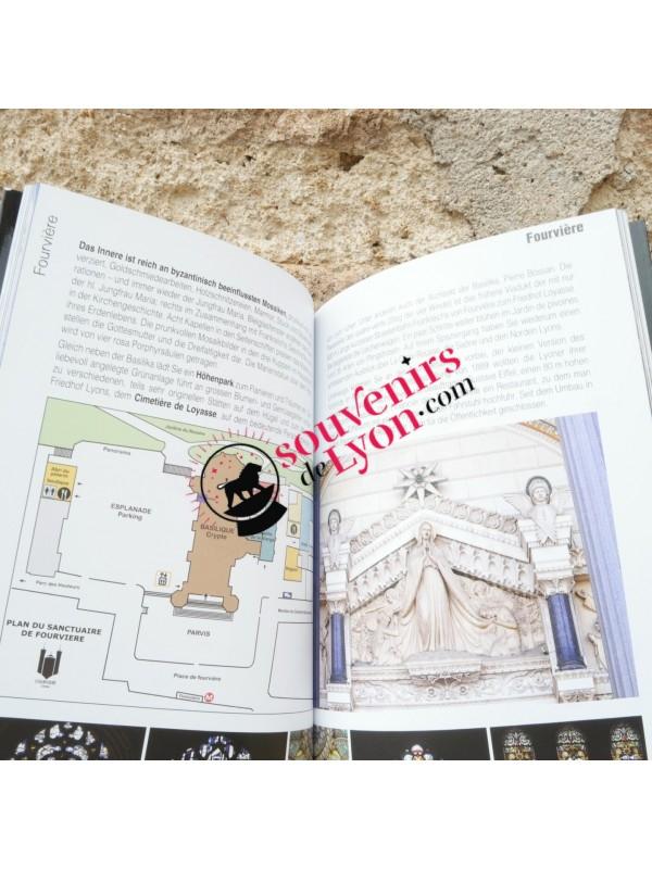 Livre Lyon Balades guidées en allemand chez Souvenirsdelyon.com