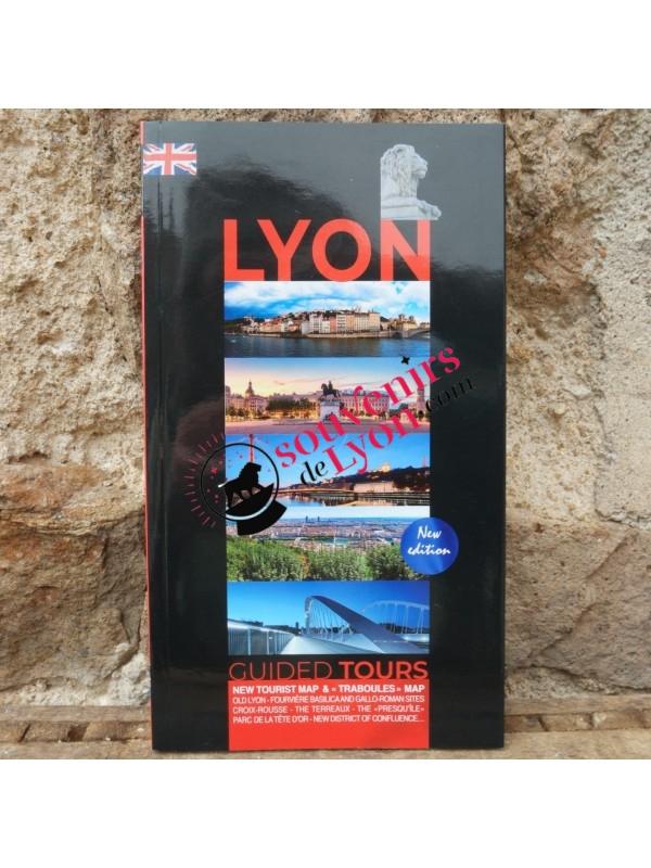 Livre Lyon Balades guidées en anglais chez Souvenirsdelyon.com