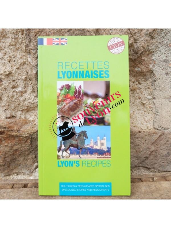 Lyon recipe book in French / English Souvenirsdelyon.com