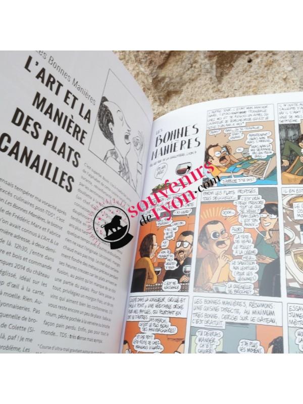BD Les enquêtes gastronomiques à Lyon chez Souvenirsdelyon.com
