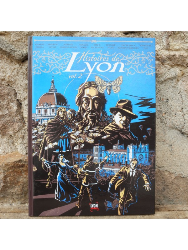 Comic Stories of Lyon vol.2  Souvenirsdelyon.com