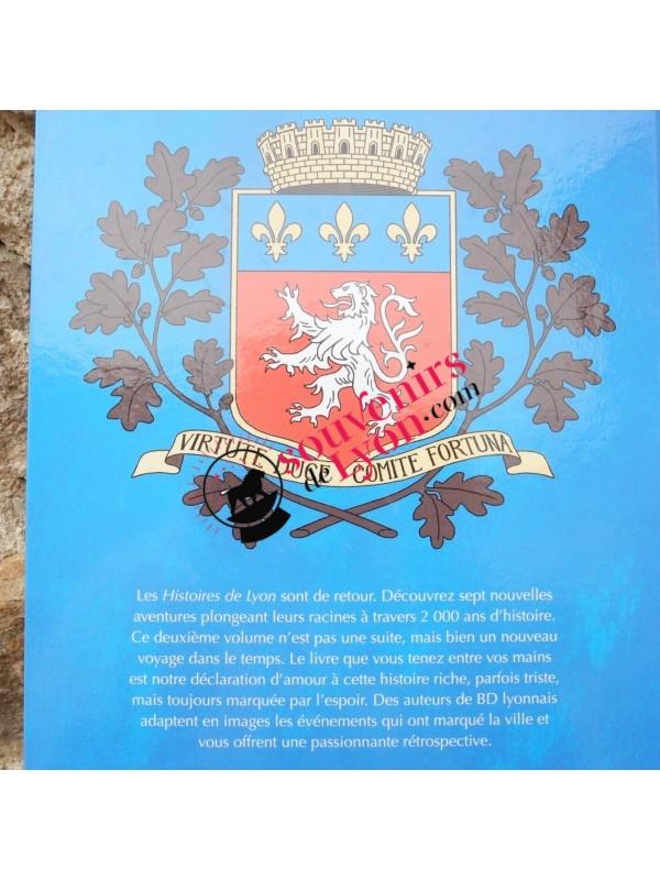 BD Histoires de Lyon vol.2 chez Souvenirsdelyon.com