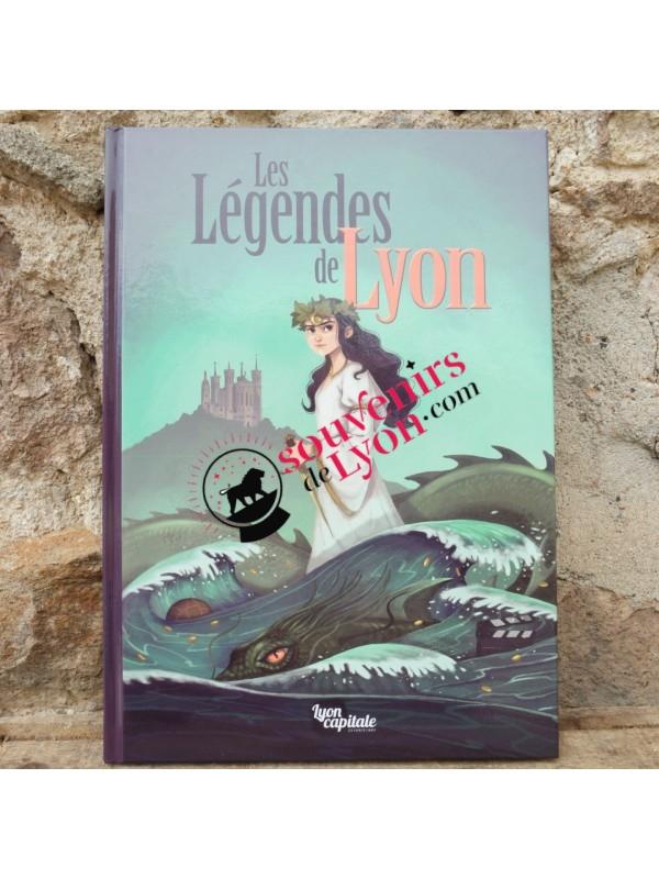 Comic The legends of Lyon Souvenirsdelyon.com