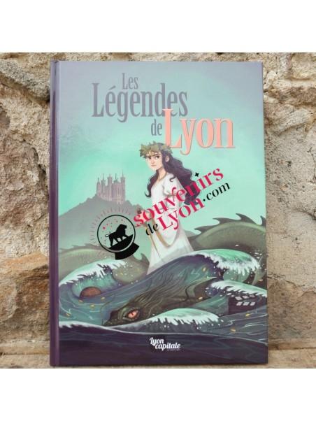 BD Les légendes de Lyon chez Souvenirsdelyon.com