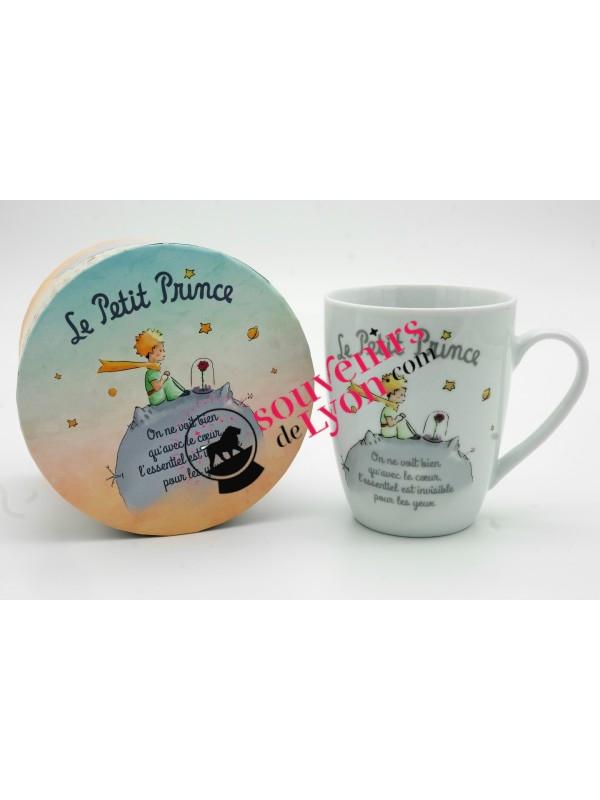Mug le Petit Prince et la Rose chez Souvenirsdelyon.com