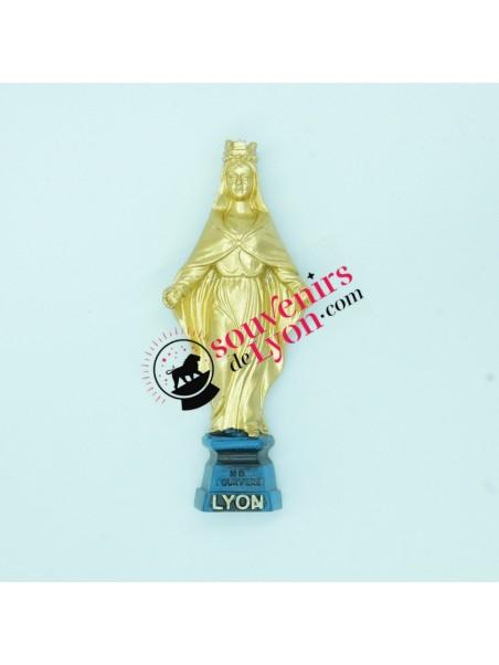 Magnet Lyon with the golden virgin of Fourvière Souvenirsdelyon.com