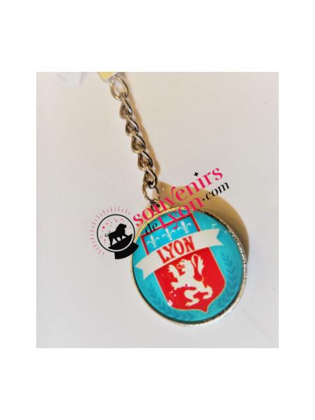 Porte-clés Lyon Emblème chez Souvenirsdelyon.com