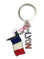 Porte-clés Lyon France chez Souvenirsdelyon.com