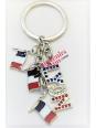 Lyon tricolor key ring Souvenirsdelyon.com