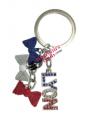 Lyon tricolor knots keyring Souvenirsdelyon.com